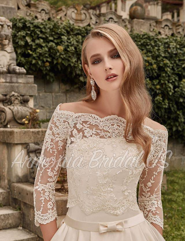 Wedding Dress, Lace White /Off White Wedding Dress, Sweep Train ...