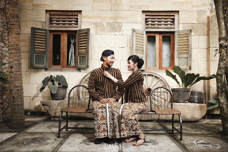 Wedding - Konsep Foto Prewedding Seru Giezka dan Jamal
