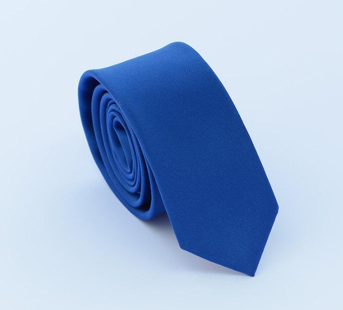 زفاف - Royal Blue Silk Tie.Mens Silk Tie.Wedding Tie.