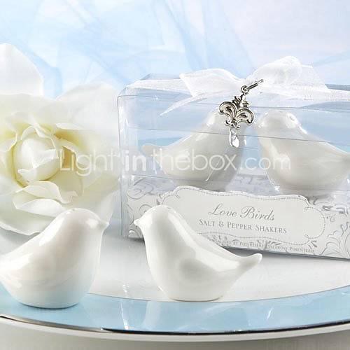 Hochzeit - Beter Gifts®Bird Design Ceramic Salt & Pepper Shakers