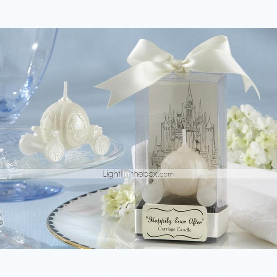 beter giftshappily ever after carriage candle bridal shower favors