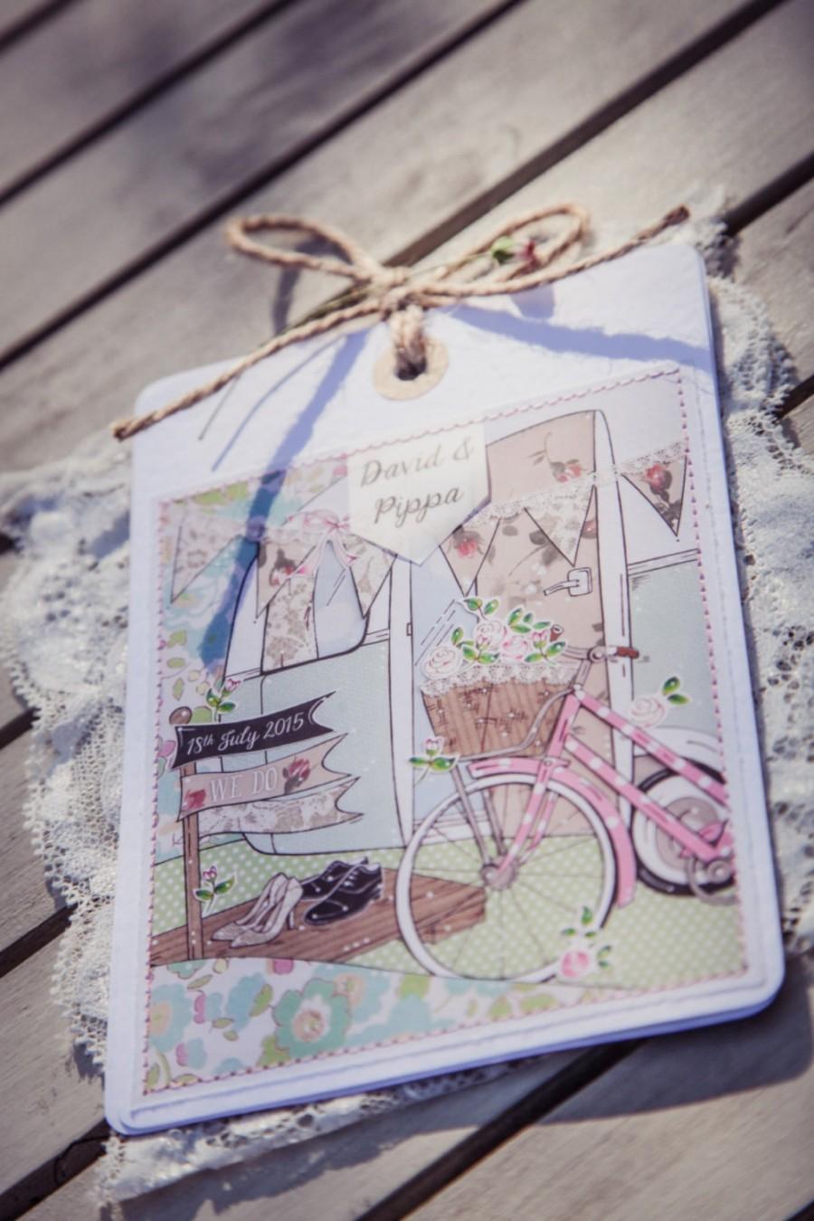 زفاف - The wedding caravan, wedding invitation package