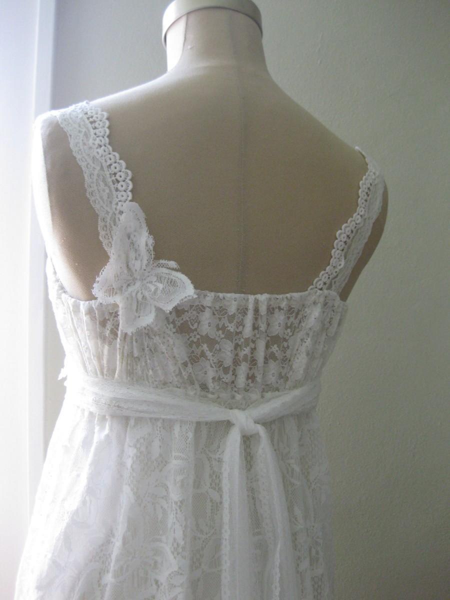 Butterfly Simply Happy Hippie Wedding Dress Boho Beach Lace Fairy