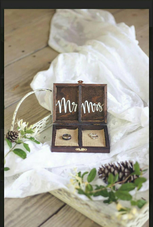 زفاف - Ring bearer box