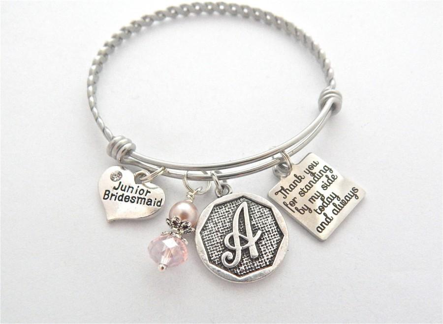 Jr Bridesmaids Gift Junior Bridesmaid Bracelet Gifts For Jr