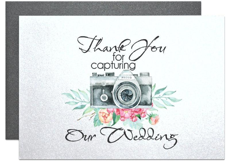 Wedding Gift Thank You Card Ideas : ... wedding-photographer-thank-you-from-newlyweds-wedding-party-gift-ideas