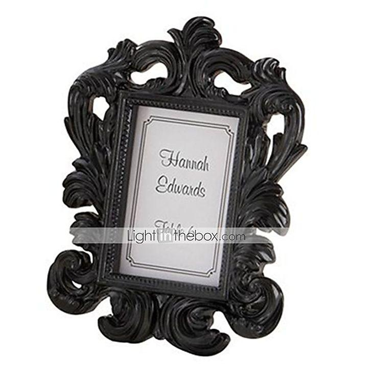 Beter Gifts® Wedding Décor - 1pcs Black Baroque Elegant Photo Frame ...