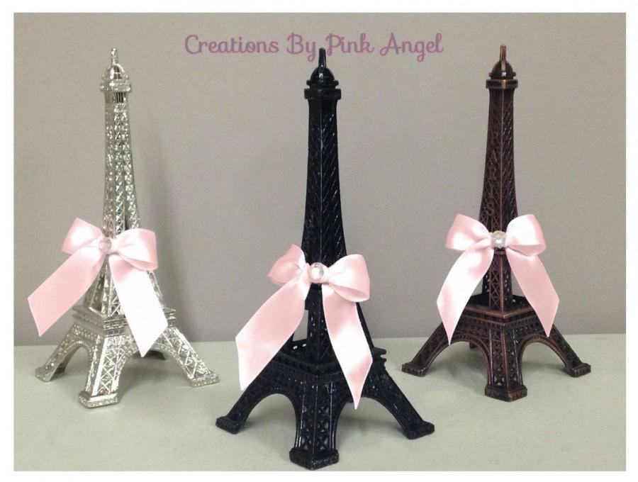 Свадьба - Eiffel Tower Cake Topper, Paris Cake Topper, Paris Baby Shower Topper, Paris Wedding Topper, Paris Birthday Party Topper