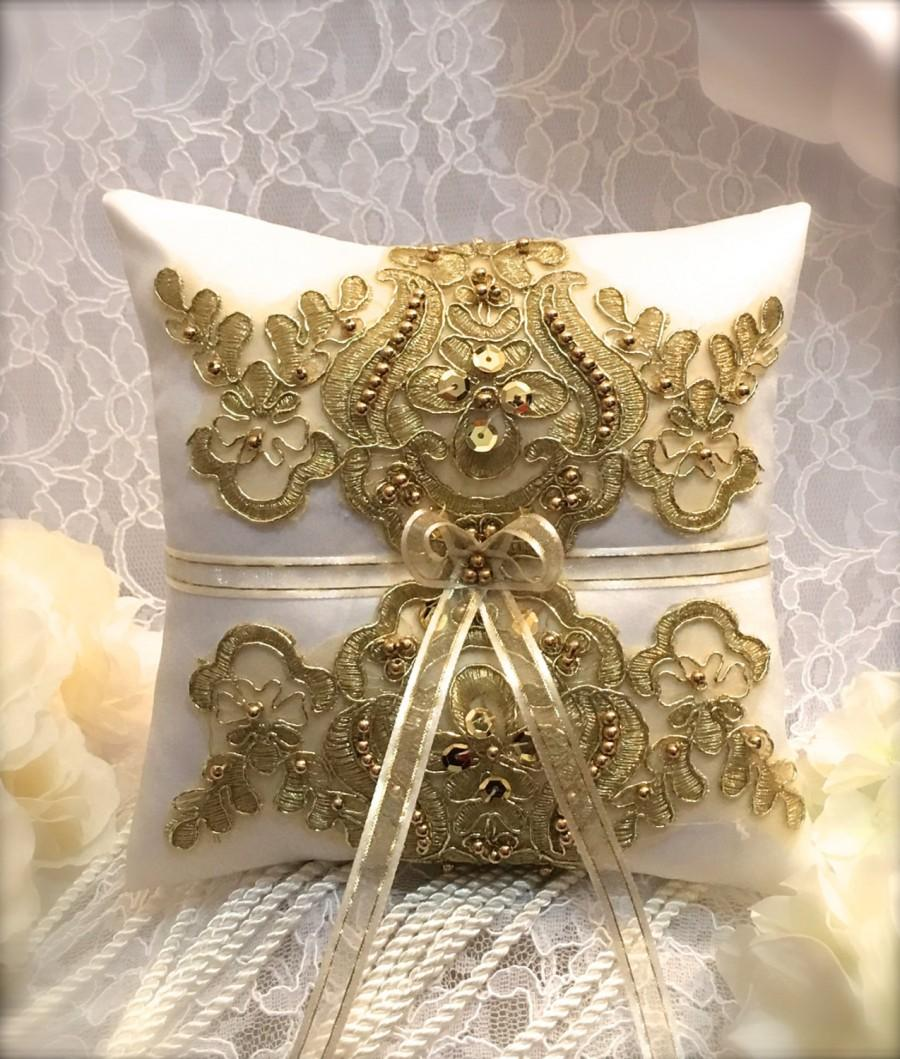products cushion lace pillow brooch il bearer ivory wedding fullxfull ring