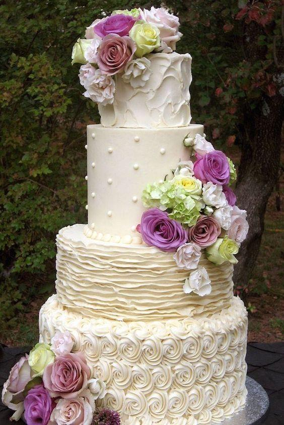 200 Most Beautiful Wedding Cakes For Your Wedding 2563703