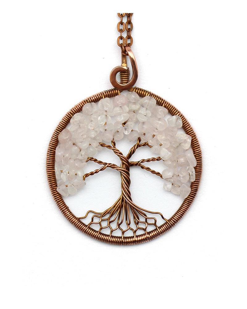 Tree-Of-Life Necklace Pendant Tree-Of-Life Jewelry Family Tree ...