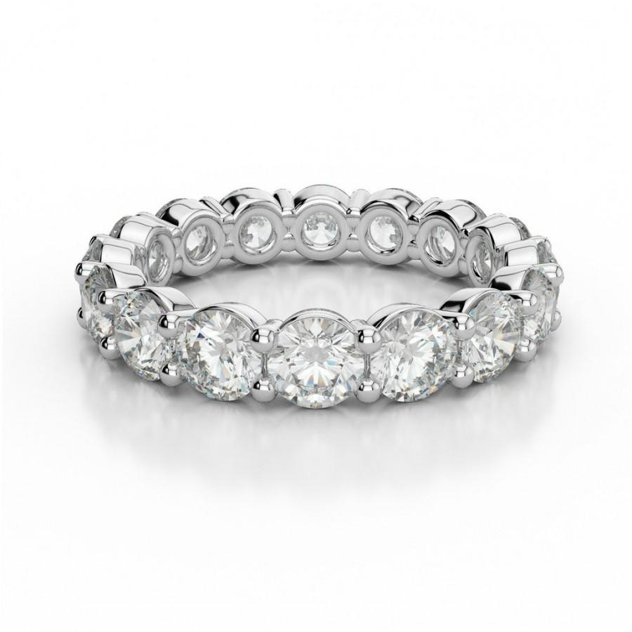bel premier viaggio celestial ring designs moissanite cut colorless emerald band ctw products eternity bands