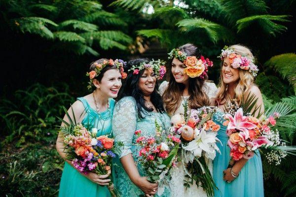 Wedding - Botanical And Baby Blue San Francisco Wedding At Golden Gate Park