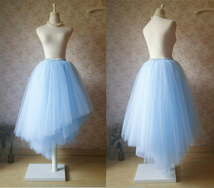 light blue unique tutu skirt bridal skirt something