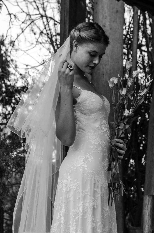 Simple Wedding Dress Gypsy Wedding Dress Lace Wedding Dress Boho
