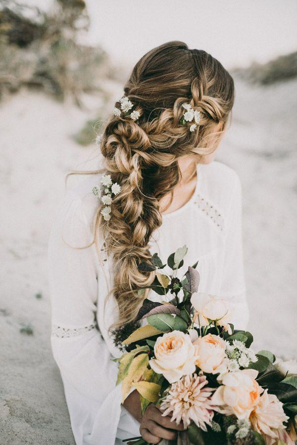 Mariage - Stunning Wedding Hairstyles With Braids For Amazing Look In Your Big Day