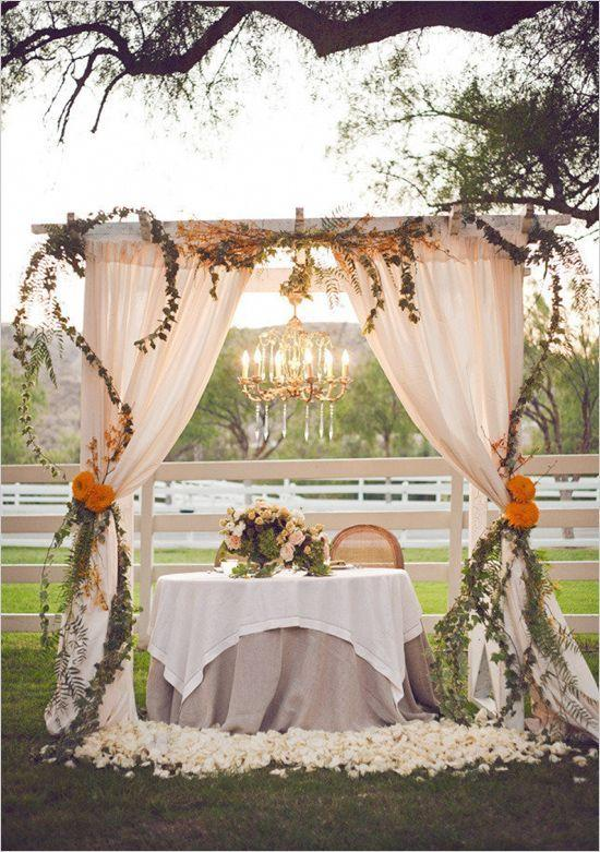Mariage - 15 Creative Wedding Canopies Perfect For Your Big Day