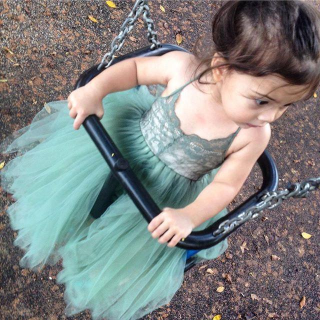 Wedding - Olive Field Flower Girl Dress French Lace and Silk Tulle Dress for baby girl Olive Green Princess Dress Olive Green Tutu Dress