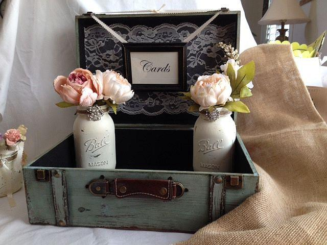 Rustic Wedding Card Box Guest Table Decor With Cards Frame – Picture Frame Wedding Card Box