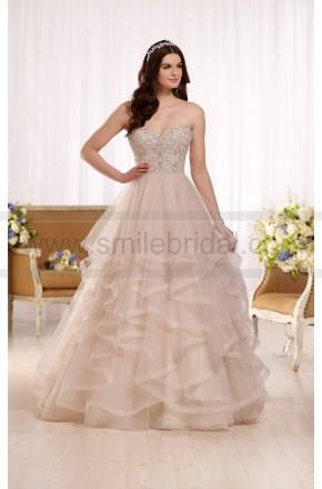 Wedding - Essense Of Australia Princess Ball Gown Wedding Dress With Sweetheart Bodice Style D2169