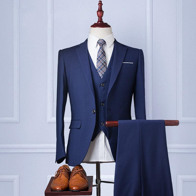 Custom Wedding SuitHandmadeMens Suit Wool Blend 3piece Weddings Mens Jacket Pants Rustic Country Designer Clothes Vest