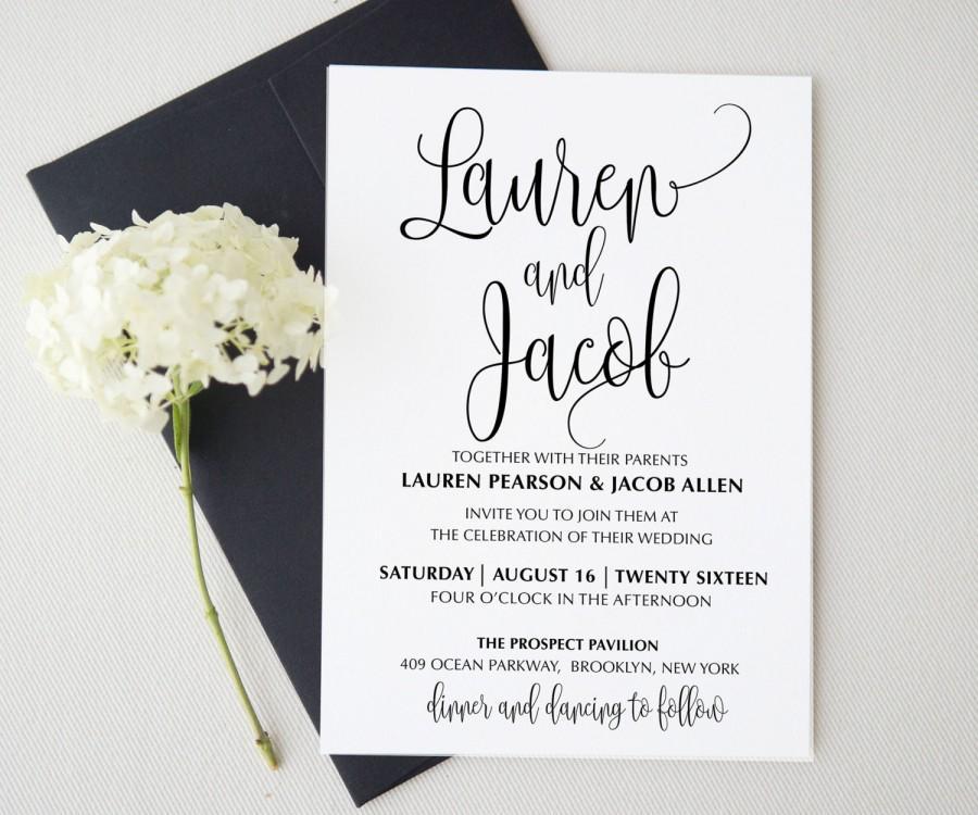 Hochzeit - Wedding invitation template . Printable Wedding Invitation Suite. Wedding Invitation Suite. Wedding Invitation Set. Save the date. 305