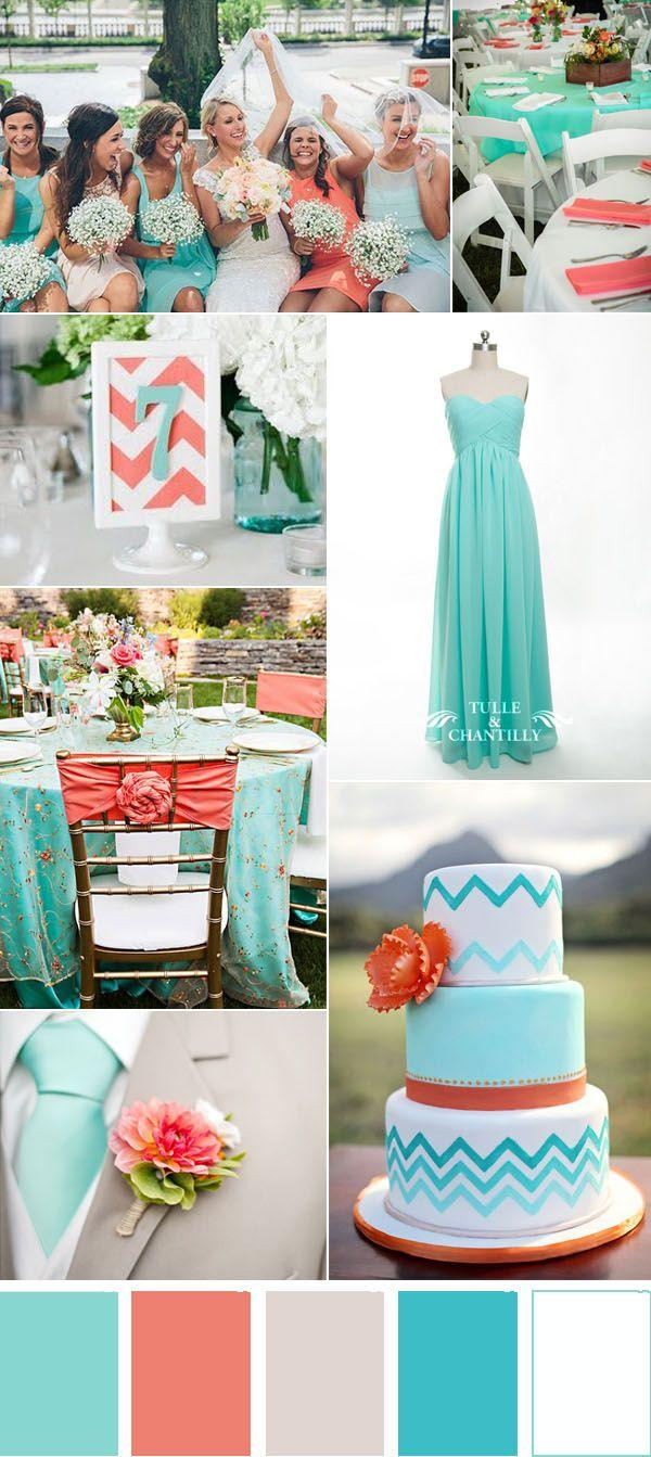 Wedding - Five Refreshing Wedding Color Ideas That Brides Will Love