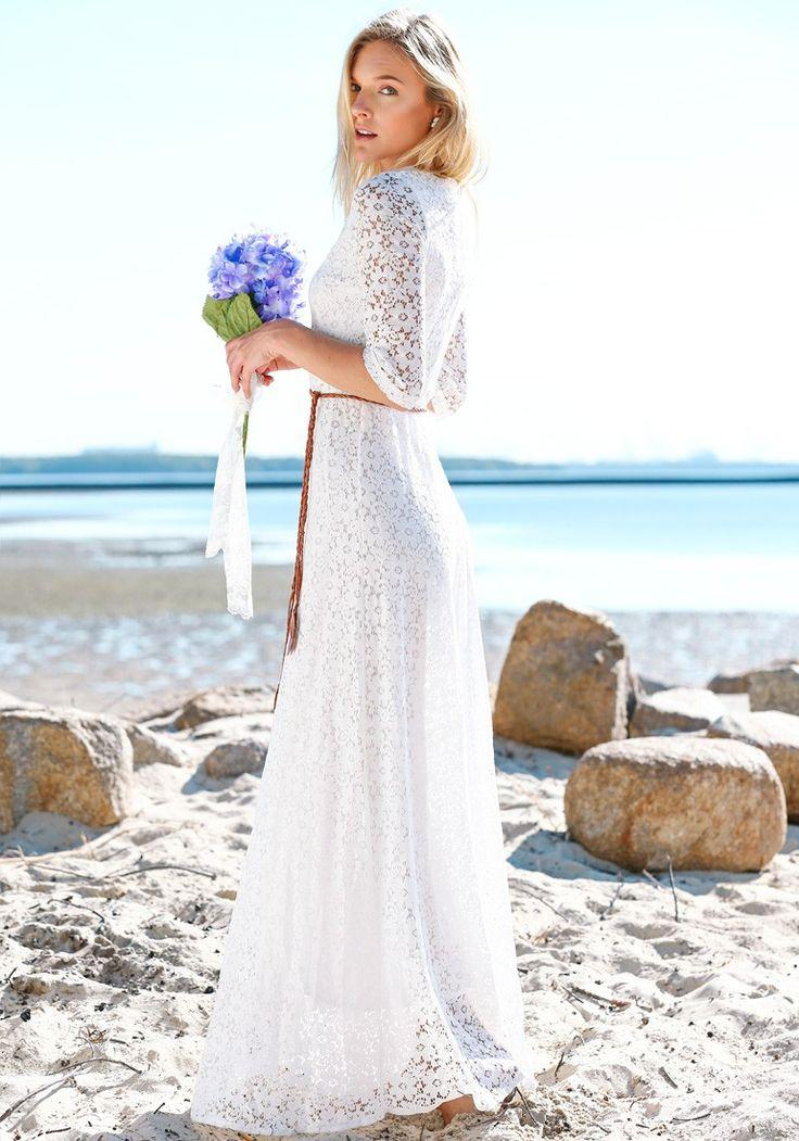 Wedding - Long Boho Wedding Dress