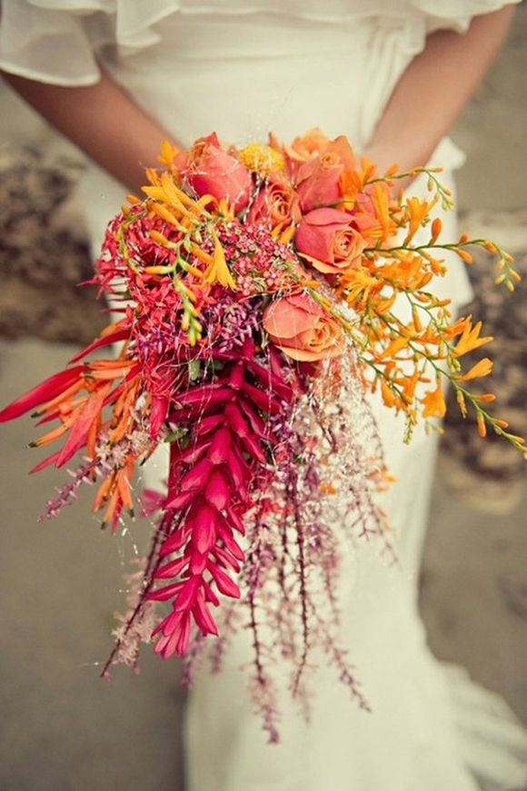 Bouquet/Flower - Summer Wedding Bouquet #2565438 - Weddbook