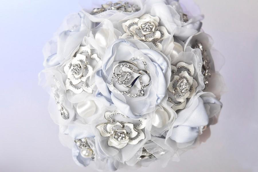Mariage - ice dream wedding brooch bouquet