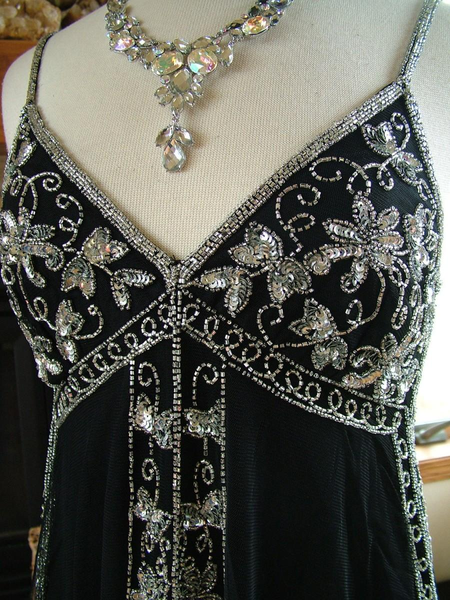 Свадьба - 1920s Inspired beaded BLOUSE top in many colors wedding bridesmaids new years  top blouse shirt
