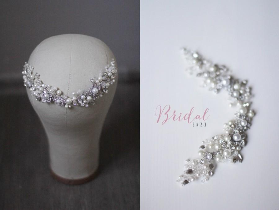 Wedding - Bridal Headpiece Wedding Headpiece Bridal Head Piece Decorative Hair Adornment Bridal Hair Accessory Decorative Hair Comb