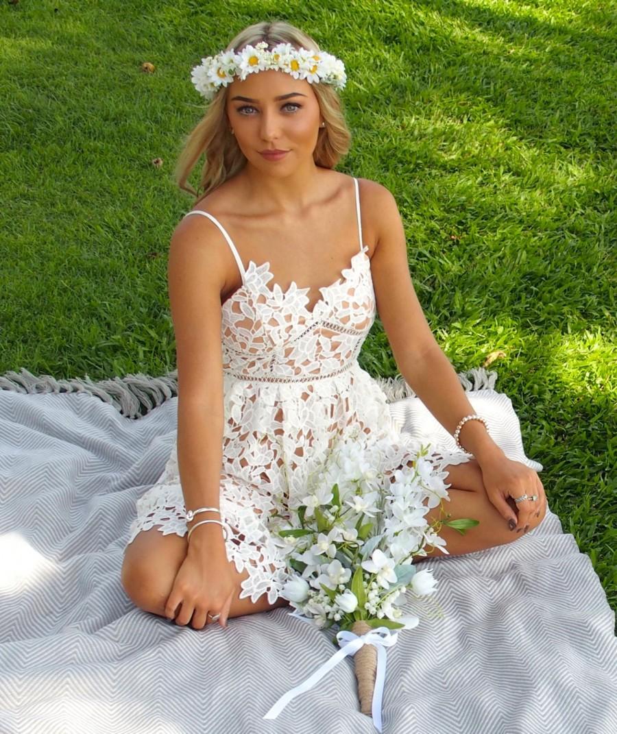 Wedding - The 'Daisy' Flower Crown
