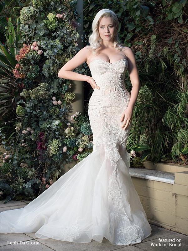 Wedding - Leah Da Gloria 2016 Wedding Dresses