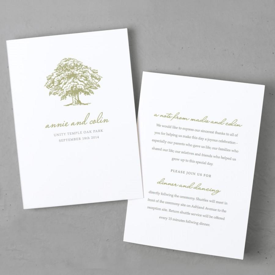 Einladung - Printable Wedding Program Template #2566352 - Weddbook