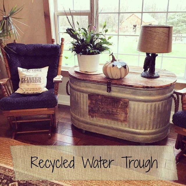 Wedding - Our Recycled Water Trough: An Update And How-To