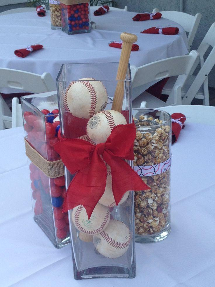 Attractive baseball decorations for party