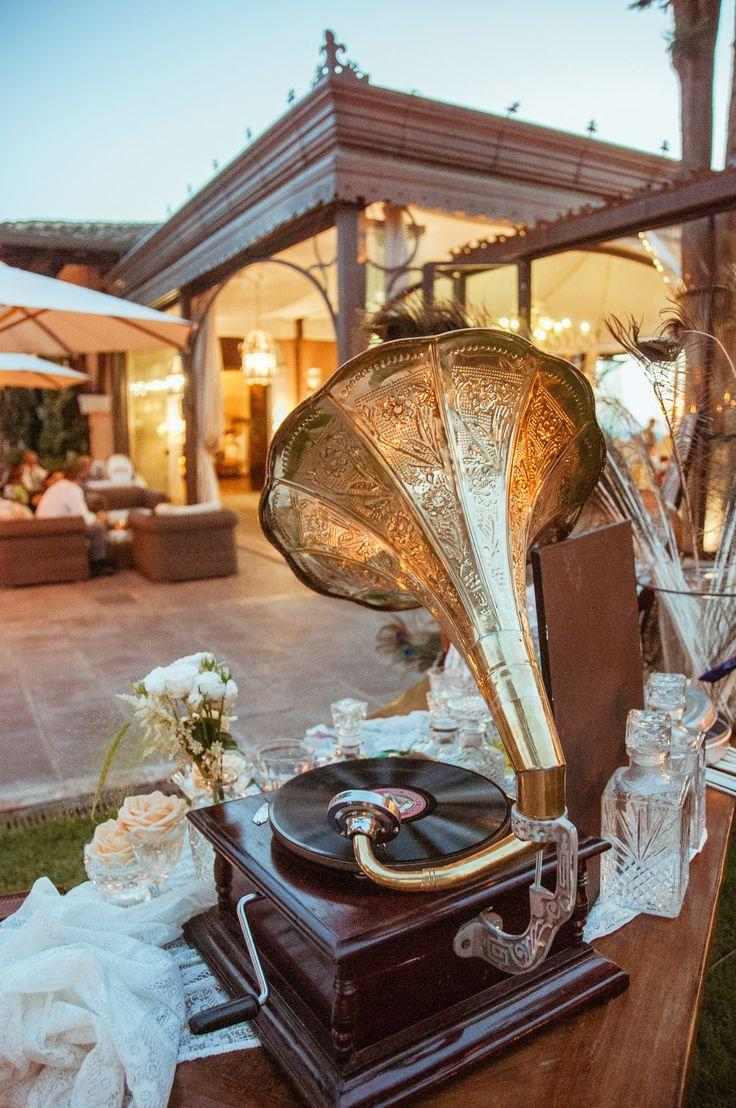 Wedding - Great Gatsby Inspired Garden Party Wedding In Tuscany