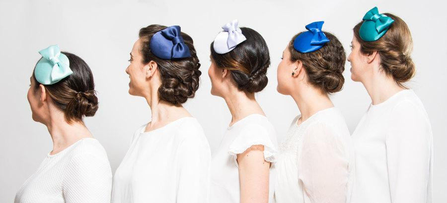 Hoy - Set Of Five Fascinators 93f90b2e7ac