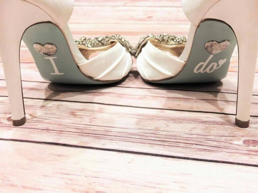 Свадьба - Wedding Shoe Decals / I Do Shoe Decals