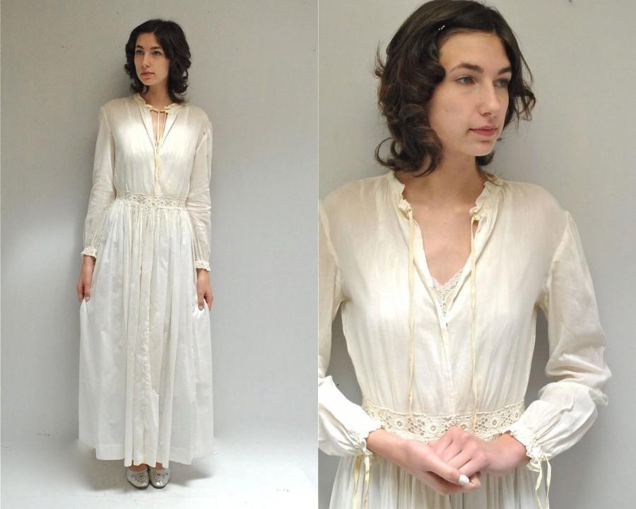 Свадьба - Edwardian Nightgown //  Bridal Nightgown  //  THE EDWINA