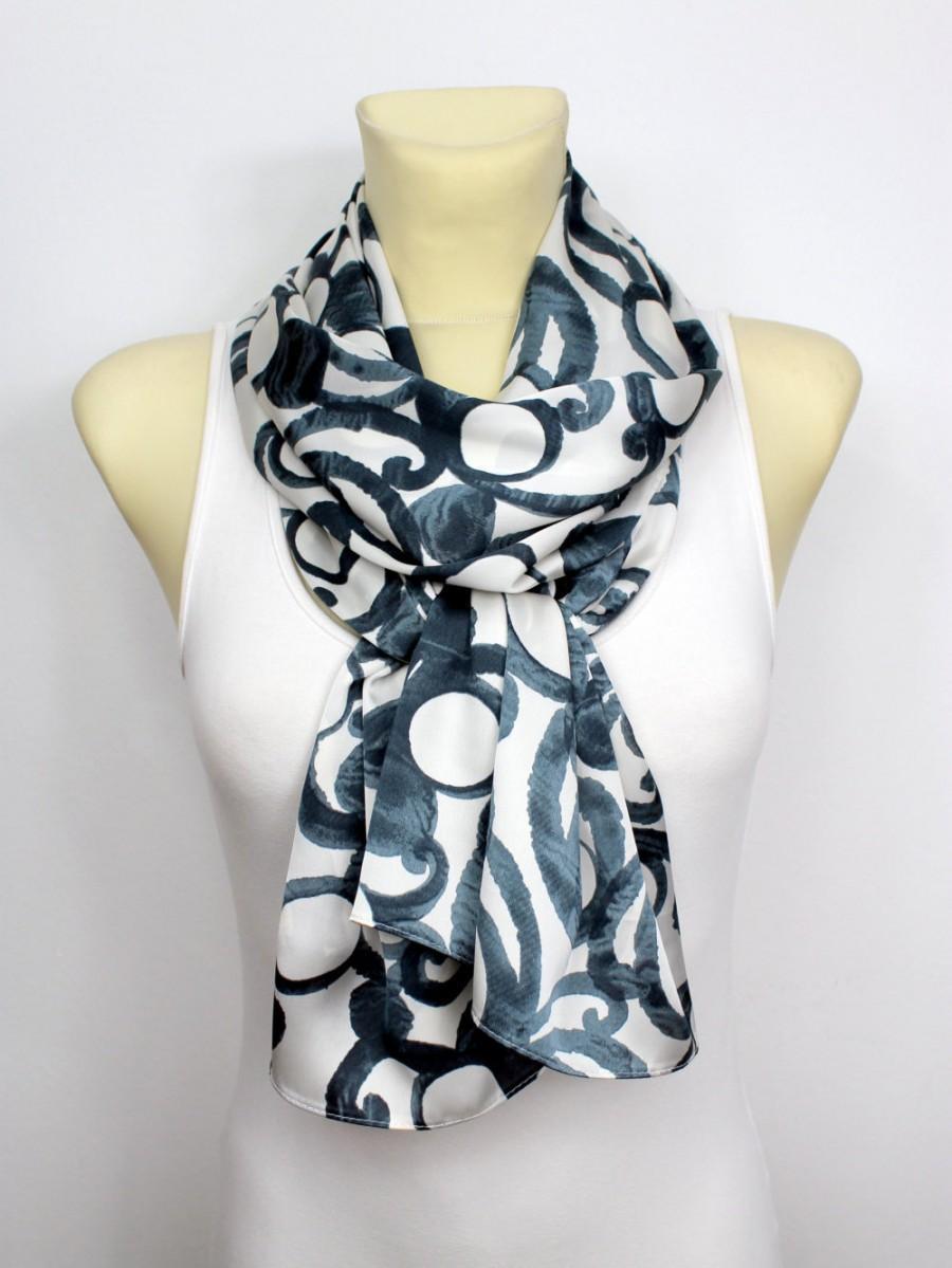 geometric printed scarf autumn fashion scarves unique