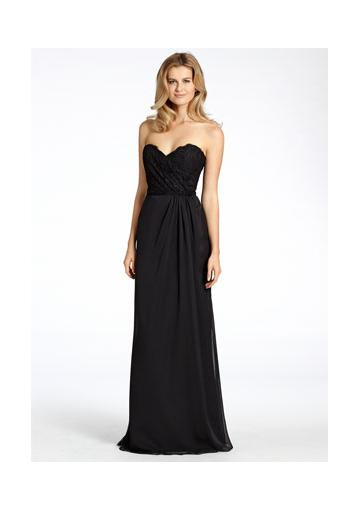 Wedding - Sleeveless Floor Length Black Sweetheart Zipper Ruched