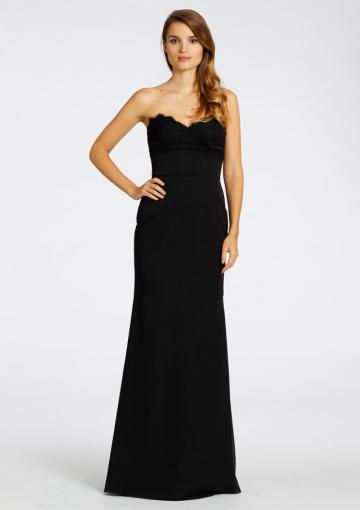 Wedding - Sweetheart Zipper Ruched Sleeveless Floor Length Black