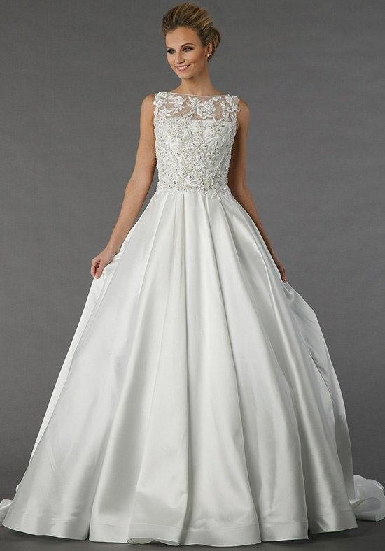 Tony ward for kleinfeld reinepres wedding dress the knot for Wedding dresses the knot