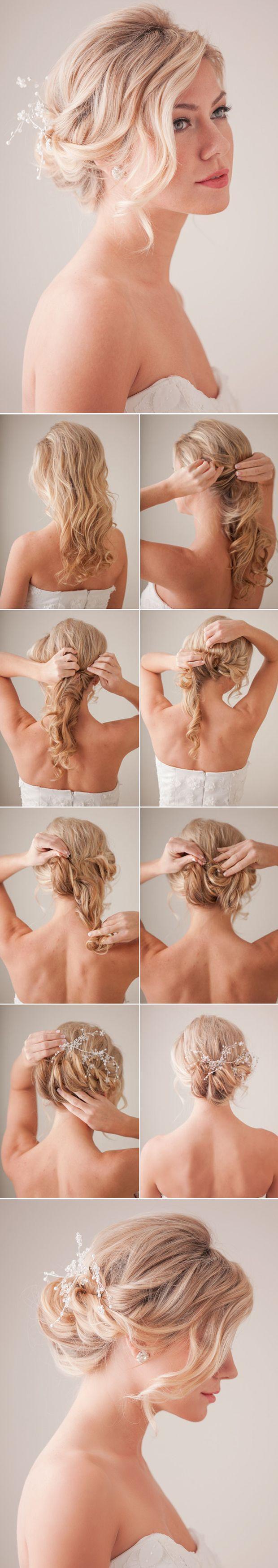 Mariage - 10 Best DIY Wedding Hairstyles With Tutorials