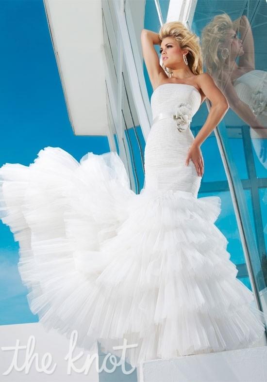 Tony Bowls Bridal For Mon Cheri T112236 Charming Custom Made Dresses