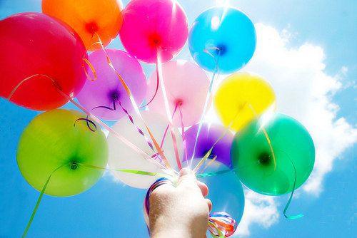 Mariage - Balloons, Baker's Twine Handmade Balloon Tissue Tassel Bouquet Kit Rainbow Party Favors Balloon Party Balloons Party Decoration