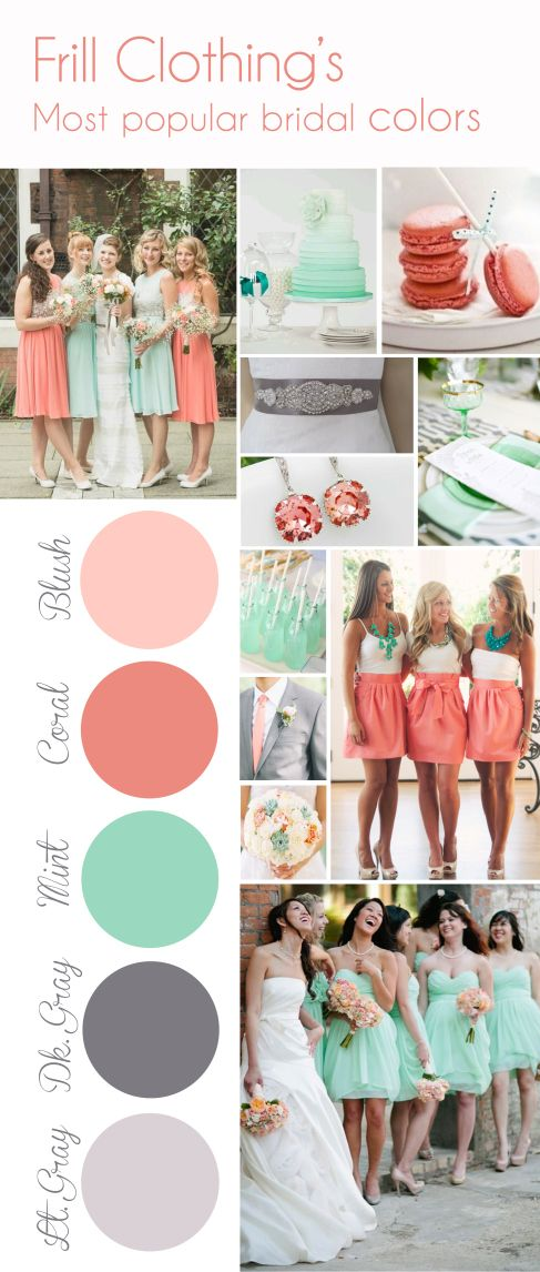 Mariage - Color Inspiration Board