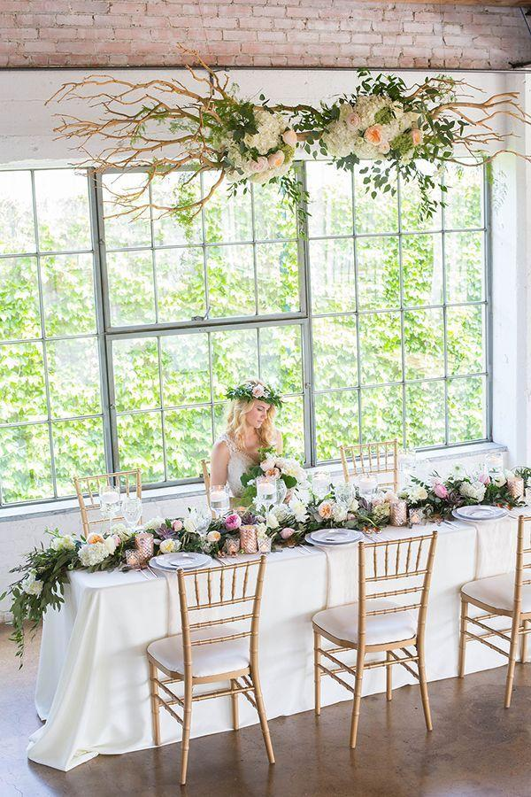 زفاف - Garden In The City: A Botanical-Inspired Wedding Shoot At Dallas' Hickory Street Annex